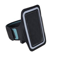 Wholesale mp4 covers - Running Arm Band Sport Leather Armband Case Cover fornano 4th 5th ONN RUIZU MP3 MP4 Player hot sales free shipping Black