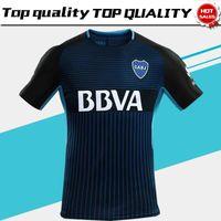 Wholesale Boca Juniors - Boca Juniors third Soccer Jersey 17 18 Boca Juniors 3rd soccer shirt 2018 Football uniforms sales