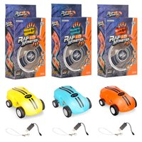 Wholesale high speed motors - Hot Mini High Speed Laser Light Cars 360° rotations Funny cool lights many kinds of tricks USB Recharging kids toys 360 ° spin 2 gears