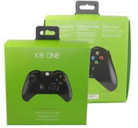 microsoft xbox game controller großhandel-Wireless Game-Controller für Microsoft Xbox ONES Bluetooth Gamepad Joystick Computer PC Joypad mit Kleinpaket