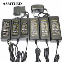 Wholesale 36w 12v Led Power Supply - 1 X EU US AU UK Plug 12V Power Adapter 1A 2A 3A 4A 5A 6A 7A 8A LED Driver 12W 24W 36W 48W 60W 72W 84W 96W LED Strip Power Supply