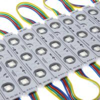módulos altos venda por atacado-Alta qualidade 5050 RGB 3 leds Módulo de Injeção de Luz DC12V 20 Lumen / Led impermeável LED publicidade luz Para Letras de Canal assinar a carta