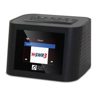 ingrosso doppia radio remota-Ocean Digital WR-828 Lingua multi-funzione WIFI Internet WIFI Dual Alarm Clock Radio USB di alta qualità Digital dab radio remote
