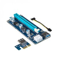 Wholesale extender 1x for sale - Group buy 70cm USB3 PCI E Express x to x Extender Riser Card Adapter SATA Pin Power Cable XXM8