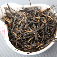 Wholesale 250g Dian hong maofeng tea large congou black tea premium red Chinese mao feng dian hong famous yunnan black tea mcgretea MCDH250G
