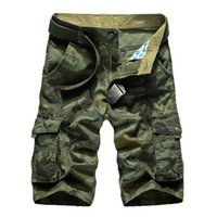 Wholesale men s work clothing for sale - Cargo Shorts Men Hot Sale Casual Camouflage Summer Brand Clothing Cotton Male Fashion Work Shorts Men Plus Size