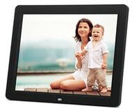 Wholesale lcd digital photo card resale online - Digital Photo Frame inch HD TFT LCD Digital Photo Frame Alarm Clock MP3 MP4 Movie Player