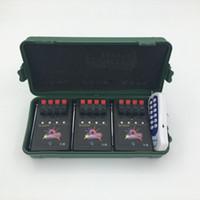 control remoto inalámbrico de fuego al por mayor-12 Cue Wireless Fireworks Sistema de control de tiro equipo + control remoto de equipos de control de fuego + sistema de Boda programable + remoto programable