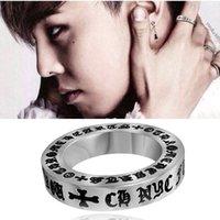 paare armbänder ringe großhandel-Hip-Hop Mode böhmischen Armband Frau Männer Geschenk Rock Stil Persönlichkeit Paar Kreuz-Finger-Ringe der Fringe Ring