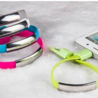 iphone usb bracelet achat en gros de-Type-C, ligne de câble de données de bracelet micro-câble USB, téléphone micro-portable de chargement rapide USB micro