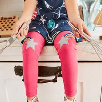 Wholesale tight pant hot girls - Baby Girl Animals Appliqued Leggings 2018 New Girl Pants Unicorn Printed Hot Sale Children Leggings 6pcs lot