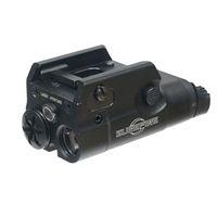taschenlampe für pistolen großhandel-2018 XC2 ultrakompakte Pistole Taschenlampe LED Mini White Light 200 Lunmens mit Red Dot Laser Black Dark Earth kostenloser Versand