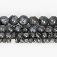 Wholesale black moonstone beads - 8mm Black Moonstone Stone Beads Round 4-10MM Natural Stone Beads DIY Loose Beads For Jewelry Making Bead Strand