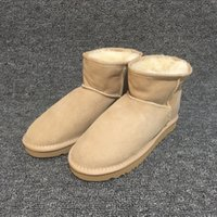 Wholesale borders australia - High Quality Ugs Women Australia Real Sheep Fur Snow Boots Waterproof Winter Warm Outdoor Boots Brand Ivg Unisex Size US3