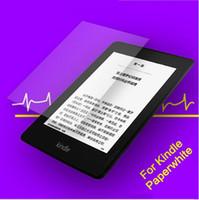 новый экран для kindle оптовых-Топ новый Kindle протектор экрана, антибликовым покрытием анти-отпечатков пальцев премиум протектор экрана для Kindle Paperwhite, Kindle Oasis с розничной коробке