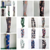 Wholesale loose legged yoga pants online - New Yoga Wide Leg Pant Fitness floral printed Women Casual Sports Pants Harem Pants Lady Trousers Loose Home Long Pants FFA1061