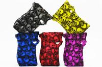 capas de vapor venda por atacado-MAG 225 W Crânio Cabeça Projeto Silicone Capa de Silicone Crânio Da Pele Capa De Borracha De Manga Capa de Proteção Para SMOK MAG 225 Caixa Mod Kit Vape