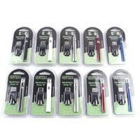 vertex zerstäuber großhandel-Vertex Verfügbare Farben Vorheizen der Batterie Blisterpackung 350mah HGB Variable Spannung VV Batterie für dicke Ölzerstäuberbehälter CE3 Vape
