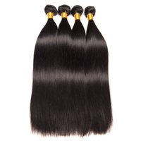 Wholesale cuticle hair for sale - Brazilian Straight Remy Human Hair Bundles Raw Indian Peruvian Malaysian Mongolian Hair Extensions Remy inch Cuticle Aligned Hair