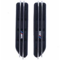 Wholesale vented door - 2pcs Air Flow Fender Side Vents Mesh Sticker Hole Grille For BMW M5 E12 E28 E39 E60 E61 F07 F10 F11 F18 5Series C 5