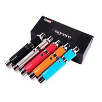dab kalem kitleri toptan satış-Sıcak Yocan Magneto Kiti 1100 mAh Pil Manyetik Bobin Cap Dahili Silikon Kavanoz Seramik Bobin Dab Wax Vape Kalem