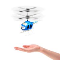 ingrosso rc giocattolo modello elicottero-Nuovo arrivo giocattolo volante RC Flying Ball (più modelli) Drone Elicottero per bambini Vouge Spedizione gratuita