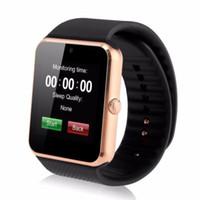 usa electronica al por mayor-GT08 Reloj inteligente para Apple Watch Hombres Mujeres Reloj de pulsera con Android Reloj electrónico inteligente con cámara SIM Tarjeta TF PK Y1
