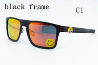 Wholesale holbrook sun - 2018 brand new Holbrook Metal 4123 Sunglasses UV400 polarized Lens Sports Sun Glasses Fashion Trend Cycling Eyewear 13 Colors