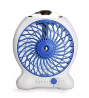 Ventilateur de pulv/érisation deau Mini batterie de refroidissement portable Ventilateur de pulv/érisation