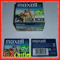 video japon al por mayor-100% original 5 x Maxell cinta mini DV de alta calidad mini DV Digital Video Cassette SP 60Min LP 90min MADE IN JAPAN w / regalo libre