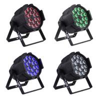 par 64 bühnenlicht großhandel-LED Multi Par kann Par 64 Innen Led Wash DJ Licht 18X15W RGBAW 5-in-1 DJ Party Bühnenbeleuchtung