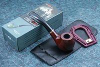 paquete de humo al por mayor-Pipa de tabaco Pipa más barata para fumar con accesorios y paquete de regalo Nivel de entrada A502
