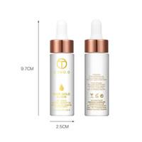 aceite caliente 24k al por mayor-O.TWO.O 24k Rose Gold Elixir Skin Infused Aceite esencial de la belleza antes del Primer Fundación Hidratante Aceite Facial Nuevo Caliente