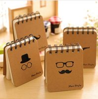 Wholesale korean spiral notebook for sale - Group buy Jonvon Satone Korean Stationery Vocabulary Words Notebook Planner Creative Notepad Diary Office Student Notebook Diary Planner