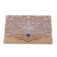 Bulk Lots 3 Styles Hollow Pattern Greeting Card Invitation Wedding Decoration Cards Craft Birthday Party Supplie Christmas Decor