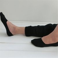 Wholesale Invisible Cut - Unisex 1 Pair Men Women Low Cut Ankle Socks Casual Soft Cotton sock Loafer Boat Non-Slip Invisible No Show Socks 3 Colors