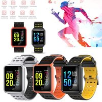 Wholesale watch monitors health resale online - TF2 N88 Smart Watch IP68 Waterproof Fitness Tracker Pedimeter Health Sleep Monitor Smart Band with Retail Box