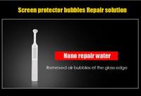 wasser telefon schutz großhandel-Gehärtetes Glas Weißer Rand Beseitigen Sie Flüssigkeit für Telefon Arc Edge-Modelle Screen Protector Border Filling Revise Nano Repair Water