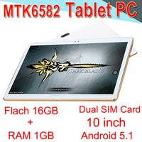 Wholesale 9.7 tablets sim for sale - Group buy Tablet PC High quality Core inch MTK6582 IPS Capacitive MTPI IPS Dual SIM G Tablet Phone Android GB EXPB Packs
