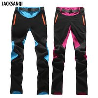 261bbd4bf82f JACKSANQI Summer Women s Quick Dry Pants Hiking Sports Outdoor Trousers  Water Repellent Trekking Climbing Female Pants RA097 C18111401
