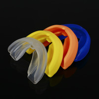 Wholesale wholesale karate - Professional Fitness Sports Mouthguard Mouth Guard Teeth Protector For Boxing Football Basketball Karate Muay Thai Safety