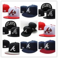 Wholesale Braves Snapback - Good Sale popular Atlanta Braves snapback custom all teams football baseball basketball America Sports Snapback hats caps fitted hats