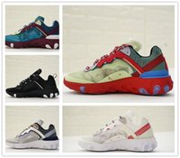 Wholesale womens neoprene tops - Epic React Element 87 undercover Super Running Shoes Top Quality luxury fashion Triple 3 Trainers Men Womens Shoes Sneakers Eur 36-45