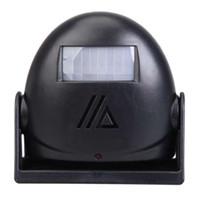 ingrosso campanello per ufficio-Campanello per campanello senza fili Campanello con sensore di movimento 16 Tune Songs White Home Office Security Usa Smart Door Bell