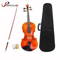 Wholesale maple wood toys for sale - Group buy 4 Violin Fiddle Stringed Instrument Musical Toy for Kids Beginners High Quality Basswood Body Steel String Arbor Bow Rosin