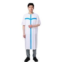 avrupa elbisesi kıyafetleri toptan satış-Avrupa Standart Kalite Hıristiyan kilisesi Unisex korosu elbise Dini elbise Chasuble Priest giyim Yaz Şarkı Elbisesi
