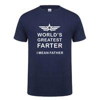 harika oğlan hediye toptan satış-Komik dünyanın En Büyük Baba T-shirt Erkekler Pamuk O-Boyun Kısa Kollu Serin Tasarım Baba Baba doğum günü Hediyesi T Gömlek OZ-083