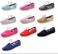 baskets paillettes achat en gros de-Bas prix vente Chaude Marque Mode chaussures plates Sneakers pour garçons filles enfants Respirant Casual Toile Chaussures enfants paillettes chaussures