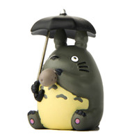Wholesale action figure hayao miyazaki resale online - 4pcs Hayao Miyazaki My Neighbor Totoro Action Figure Toys DIY Micro landscape Collection Model Toy for Garden Ornaments