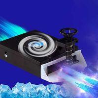 usb vakuumkühlerlüfter großhandel-Mini Vacuum USB Laptop Cooling Pad Air Extraktion Abluftventilator CPU Kühler für Notebook Computer Hardware Kühlung